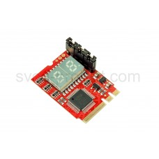 Universal multi-function POST card lpc + compal NGFF