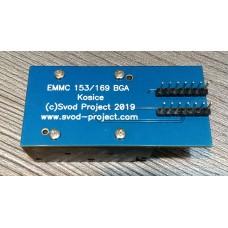 eMMC 153/169 ZIF socket